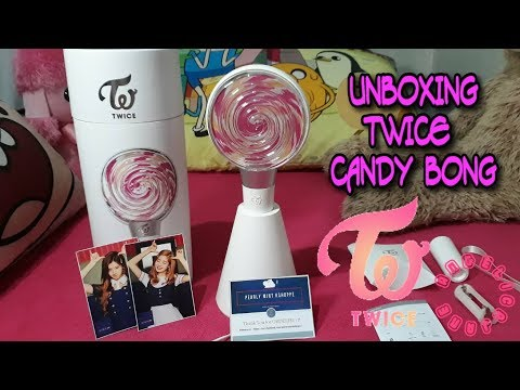 UNBOXING] TWICE Official Lightstick 'CANDY BONG' - Youtube