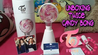 [UNBOXING] TWICE Official Lightstick 'CANDY BONG'