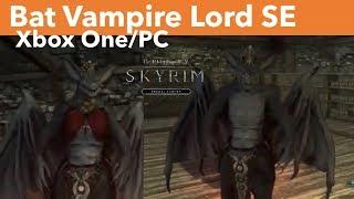 Skyrim SE Xbox One/PC Mods|Bat Vampire Lord SE