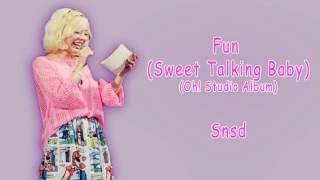 [Rom/Han/Eng] Snsd - Fun (Sweet Talking Baby) Lyrics