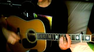 Crying ~ Roy Orbison - K.D. Lang ~ Acoustic Cover w/ Martin D-45