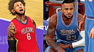 LEBRON SCARED TO GUARD CAM 1V1! | EXPOSING LEBRON DEFENSE PART 2! - NBA 2K16 MyCAREER S3 R2G4