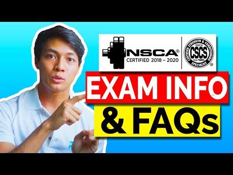 CSCS EXAM FAQ 2021- CSCS Exam Pass Rate, CSCS Test ...