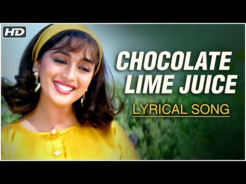 Chocolate Lime Juice Ice Cream Toffeeya | Lyrical | Hum Aapke Hain Koun | Madhuri Dixit, Salman Khan