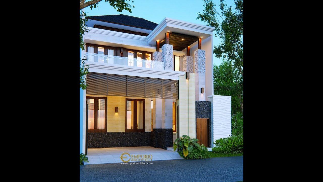 Video 3D Mr. Rithik Villa Bali House 2 Floors Design - Jakarta