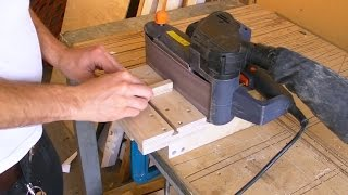 Mini Edge Sander  Belt Sander Stand / Clamp