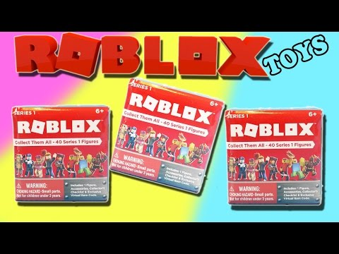 Roblox Surprise Blind Box Toys Opening - Series 1 + Online Exclusive Items
