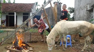 Đùi Ngựa Nướng Phong Cách Mông Cổ - Tam Mao Thịt Ngựa Bạch Đãi Cả Xòm Ăn Không Hết 1 Đùi