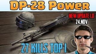 DP-28 Power - Shroud And Chad 27 Kills Duo Vs SQUAD [TEST SERVER] - PUBG Highlights TOP 1 #14