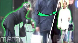 7 FAKE HOMELESS PEOPLE WHO GOT EXPOSED ON CAMERA