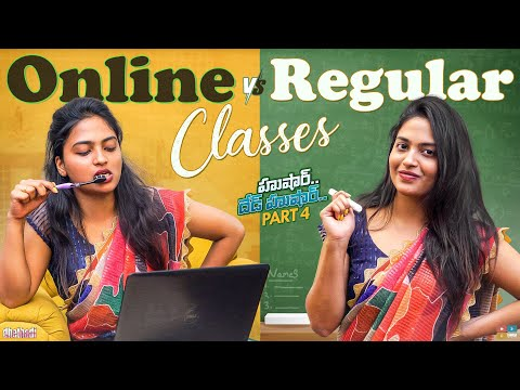 Online Vs Regular Classes comedy video