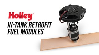 Holley: Universal In-Tank Retrofit Fuel Module