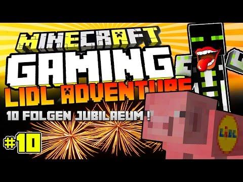 10 FOLGEN JUBILÄUM?!! - Mitarbeiter im Lidl!?! - Minecraft GAMING | arazhulhd