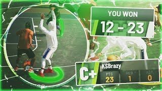 NBA 2K19 MyPARK - SCORED 23 POINTS IN 1 GAME! THE BEST BUILD IN NBA 2K19!
