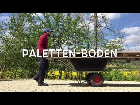 Offenstall - DIY-Heuraufe aus alter Weidehütte