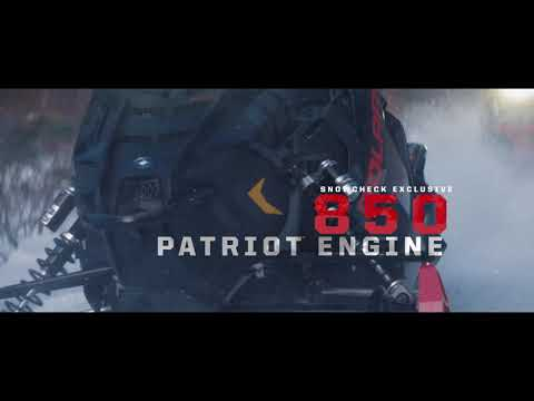 2020 Polaris 800 Indy Adventure 137 SC in Lincoln, Maine - Video 1