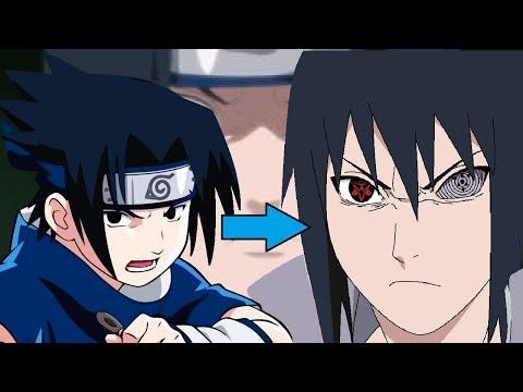 Sasuke Power Levels Over The Years (Naruto/Shippuden/Boruto