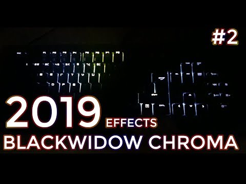 TOP 5 COOLEST Razer Blackwidow Chroma Effects + Download #2 - Franjo