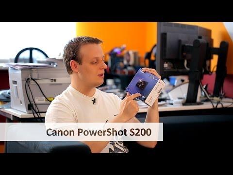 Canon PowerShot S200 - Günstige(re) Edel-Kompaktkamera im Unboxing [Deutsch]