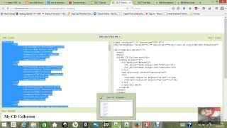 Simple tutorial of XML to XSLT and XHTML transform