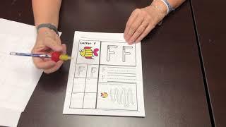 Handwriting Worksheets For Kindergarten Or First Grade