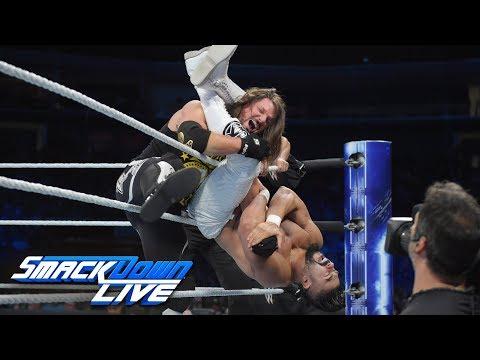 WWE Champion AJ Styles vs. Andrade