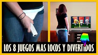 LOS 8 VIDEOJUEGOS MAS SUPER LOCOS DE LA VIDA
