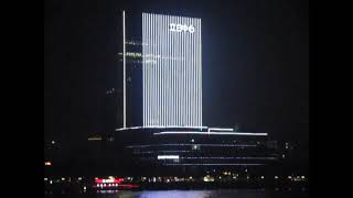 Ночь в китайском мегаполисе, городе-порте Гуанчжоу (广州).