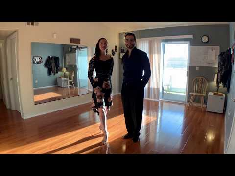 Online Argentine Tango class with Michael & Nella - Change of front and Double Boleo