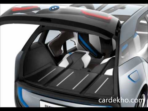 A sneak peek into BMW i3 Concept