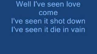"""Video thumbnail of """"Blaze Of Glory Lyrics"""""""