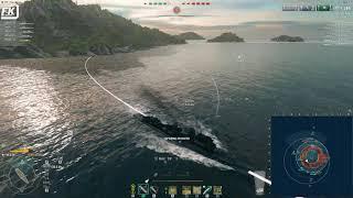 World of Warships - Intense RANKED SPRINT match