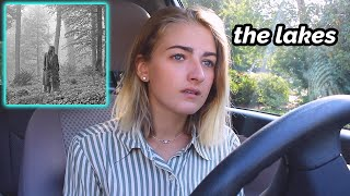 let's listen to the lakes ✰ taylor swift folklore reaction