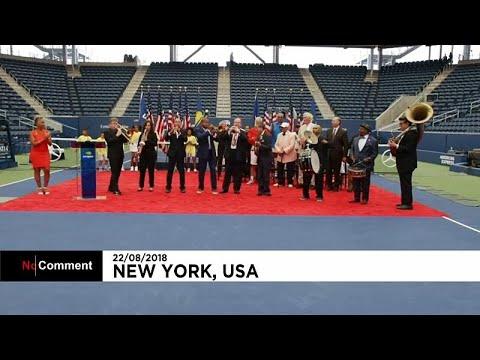 العرب اليوم - شاهد : افتتاح ملعب لويس أرمسترونغ الجديد بعرض تقليدي الأربعاء