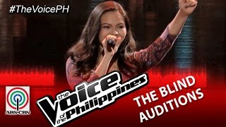 "The Voice of the Philippines Blind Audition  ""We Can't Stop"" by Thara Jordana (Season 2)"