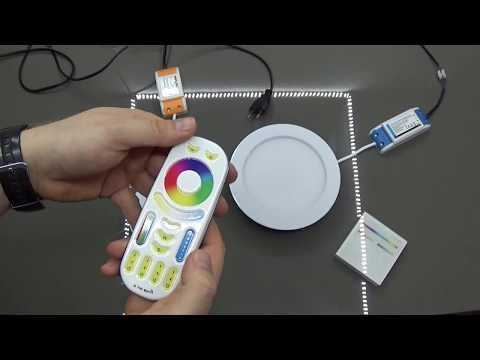 Oprawa LED WiFi RGB+CCT Milight FUT066 i FUT068 Downlight