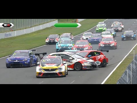 2017 Oschersleben, TCR 26-minute HLTS. Morbidelli's masterpiece
