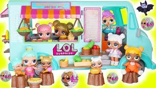 L.O.L. Surprise! Dolls Food DIY Custom House Wrong Clothes Rescue Sisters Boat Ocean Shark Unboxed!