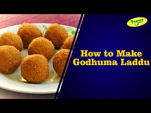 How to Make Godhuma Laddu || Bharathi's Kitchen || YummyOne