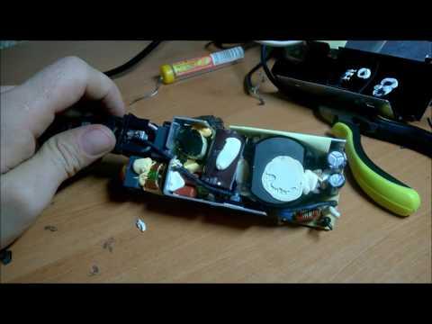 Блок питания ноутбука - вскрытие, диагностика, ремонт