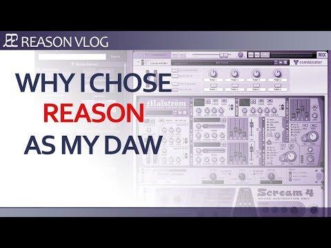 Why I chose Reason as my DAW