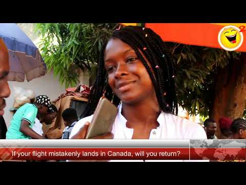 If Your Flight Mistakenly Lands In Canada, Will U Return To Nigeria? - Osquare Comedy Funny Replies