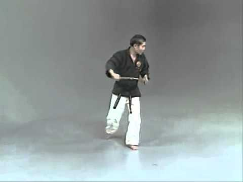 Ko Bu Nunchaku   kata and bunkai
