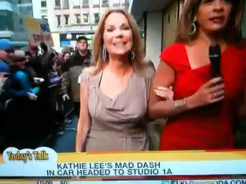 Braless Bouncing Kathie Lee
