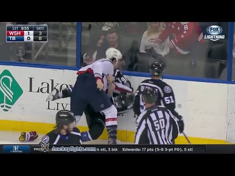 Tom Wilson vs Mike Blunden