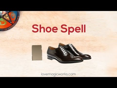 ✨👞 Magick Spells With Shoes For Love, Control & Domination