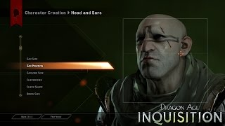 DRAGON AGE™: INQUISITION Gameplay Feature – Character Creation