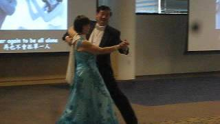 2016-02-21 (Sun.) Waltz Performance : You light up my life, by Johnny Lo and Nancy Chen