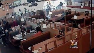 Customer Stabs Server At IHOP Restaurant