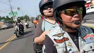Melky Barbs Harley 13th Armed Force Freedom Ride  5.19.2019